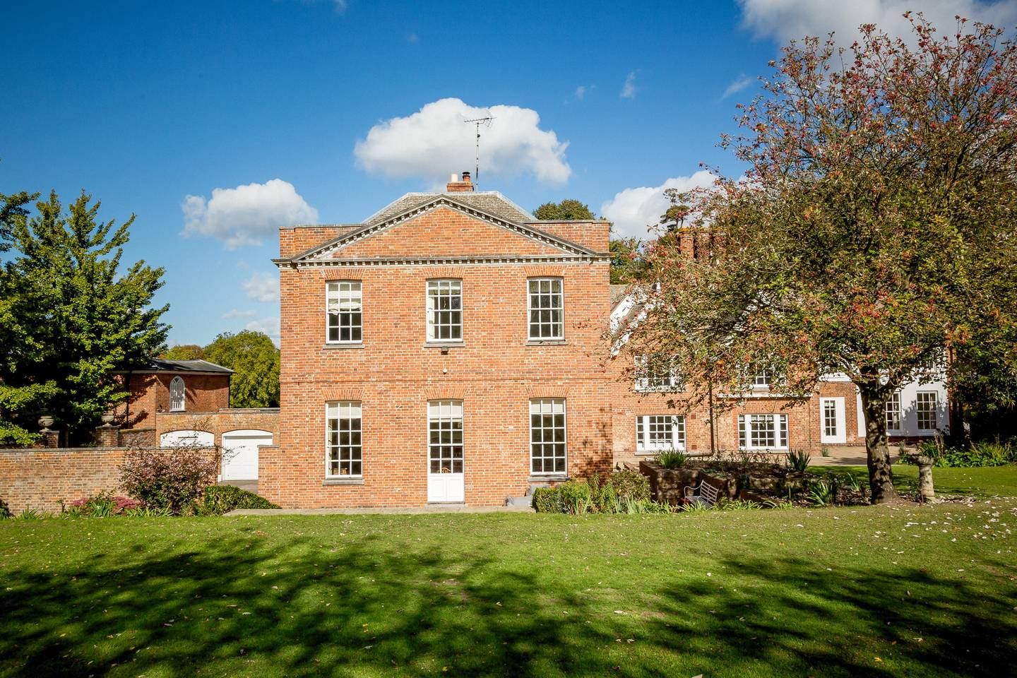 airbnb abbey house on audley estate england
