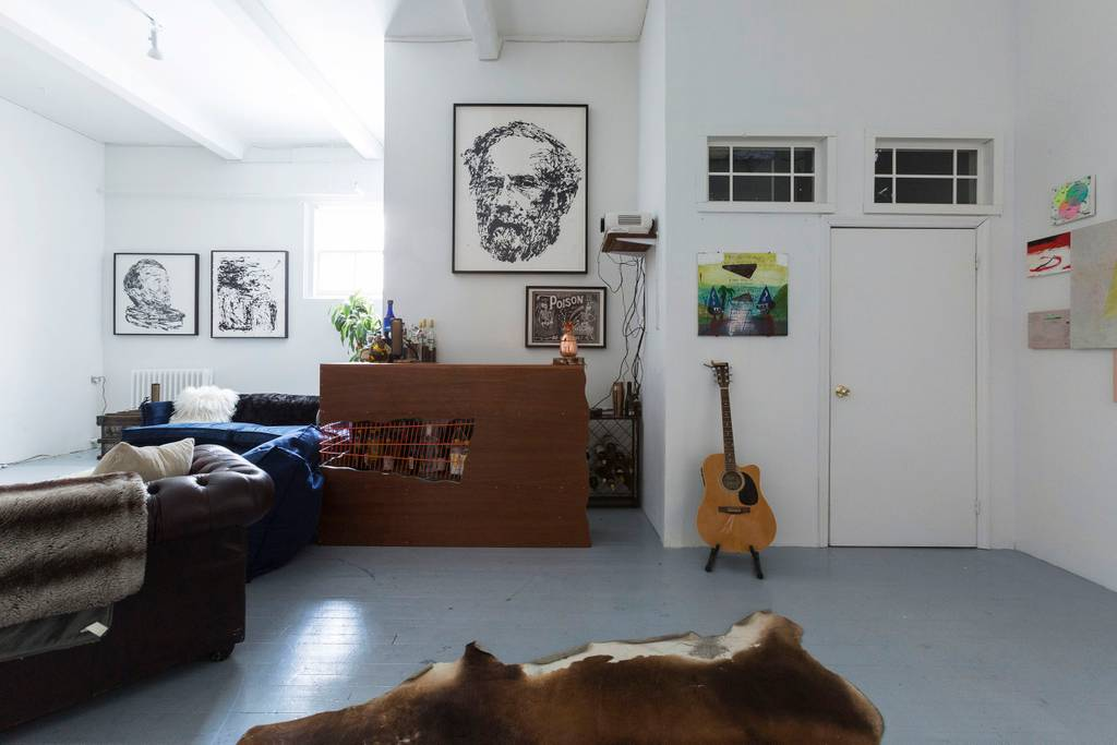 contemporary artistic home in east village