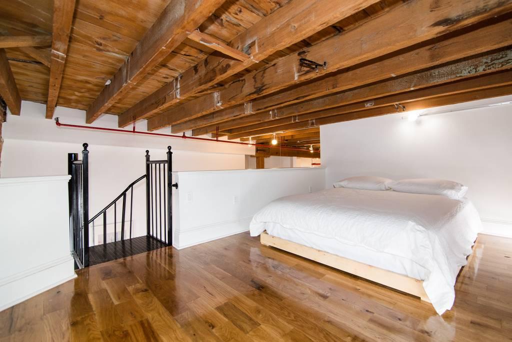 brooklyn urban and trendy airbnb loft space
