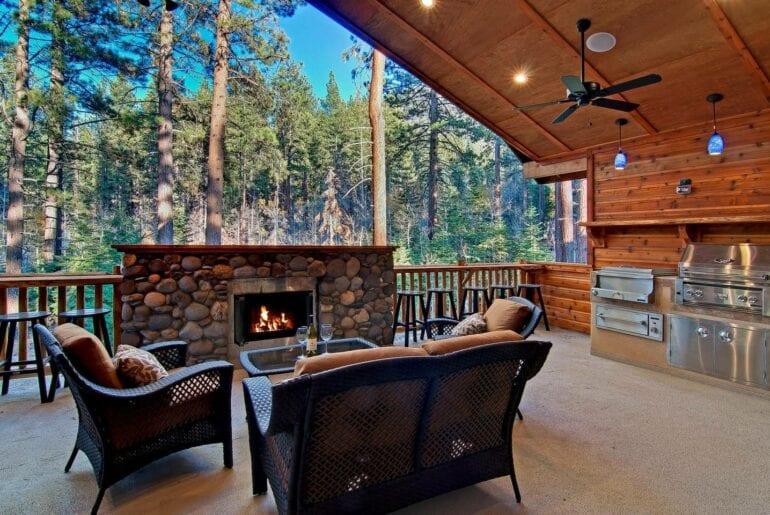 lake tahoe luxury airbnb home