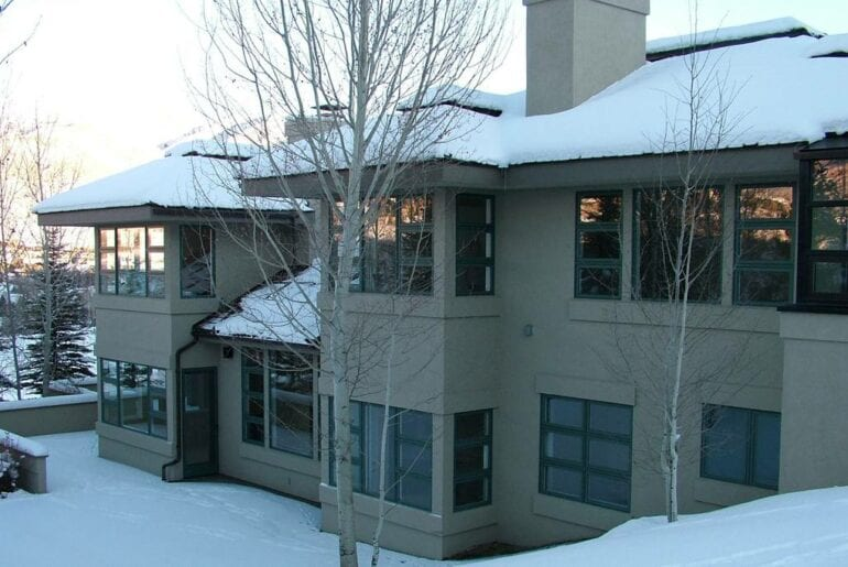 contemporary sun valley airbnb home