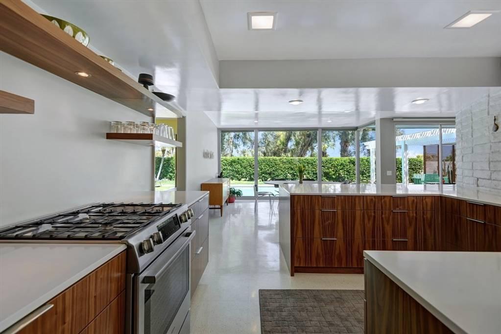 ultra modern home convenient for the coachella festival