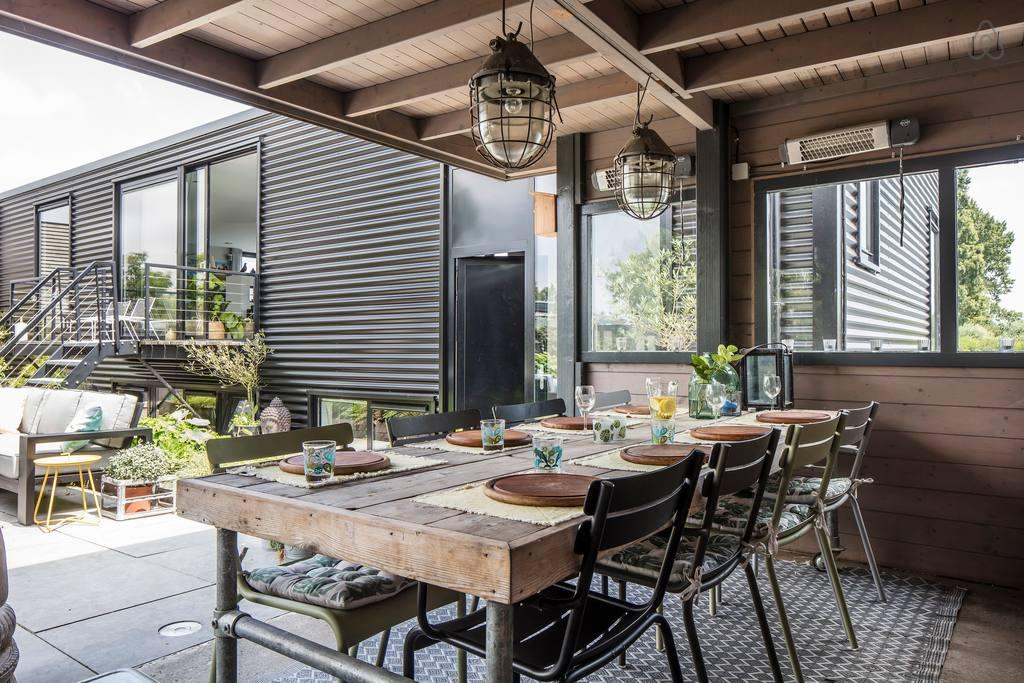 designer amsterdam houseboat airbnb