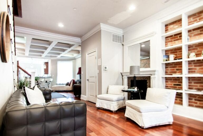 renovated Victorian townhome