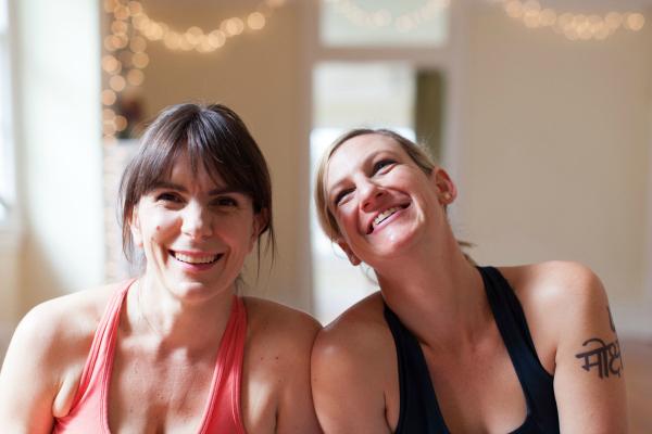 Jessica Blanchard and Mikhayla Anderson, Yoga Teachers