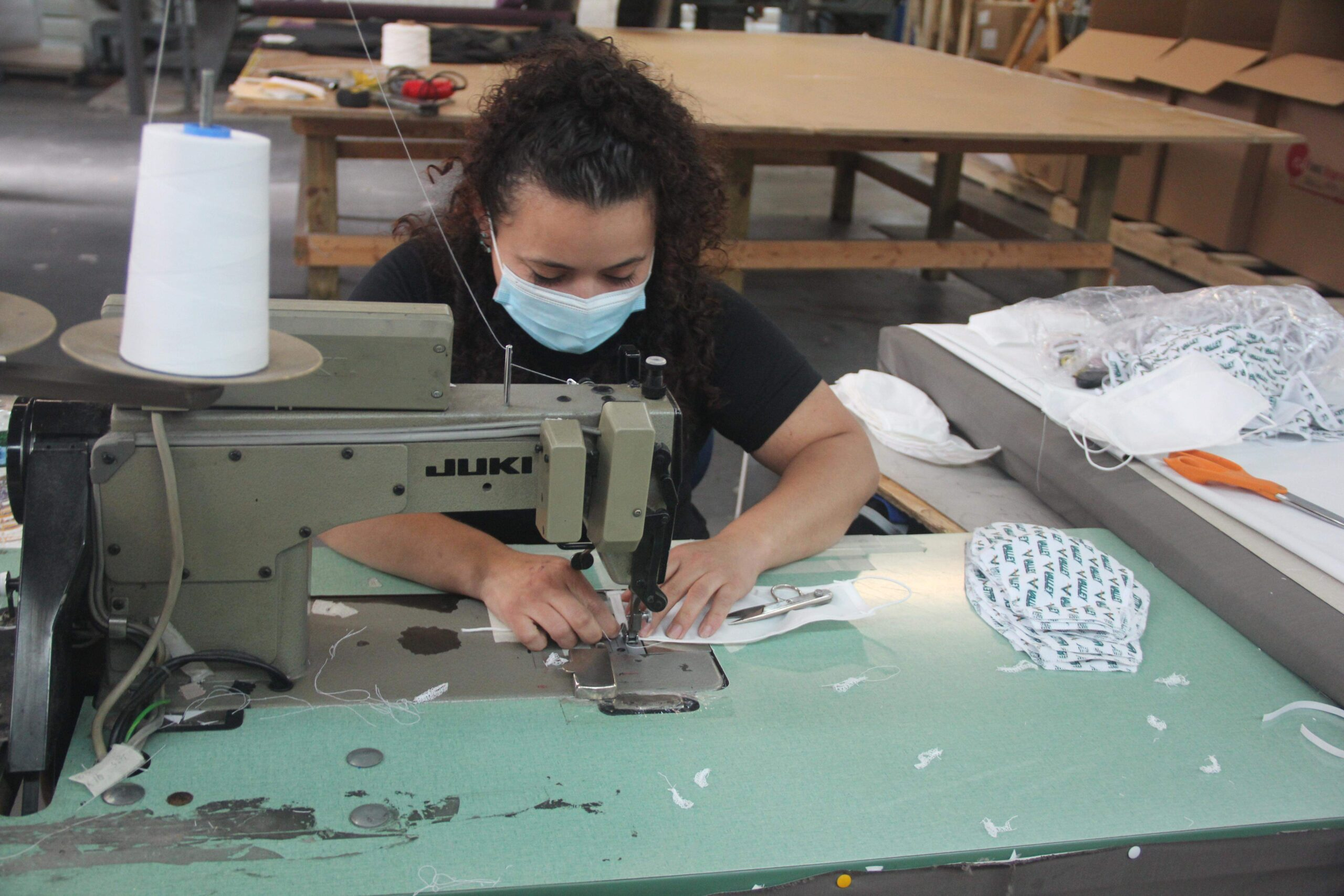 County Draperies Gets Into The Mask-Making Business