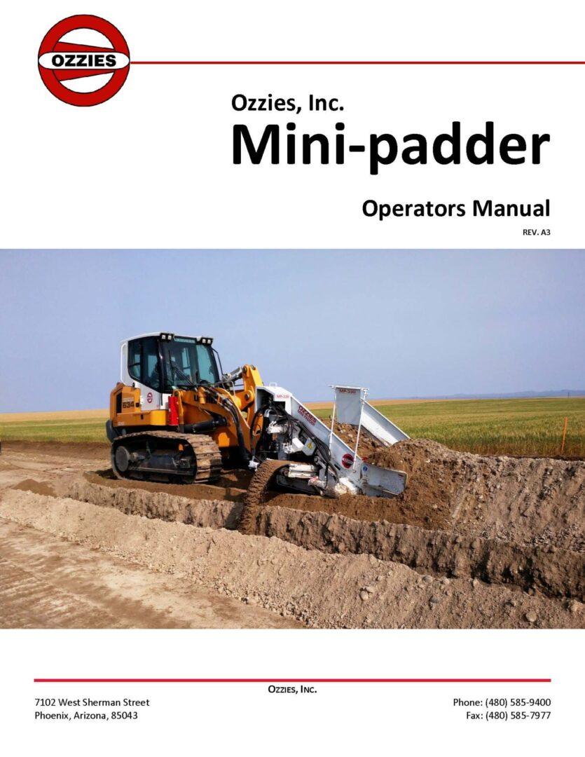 Mini-Padder_Manual_Rev_A3_CoverPage