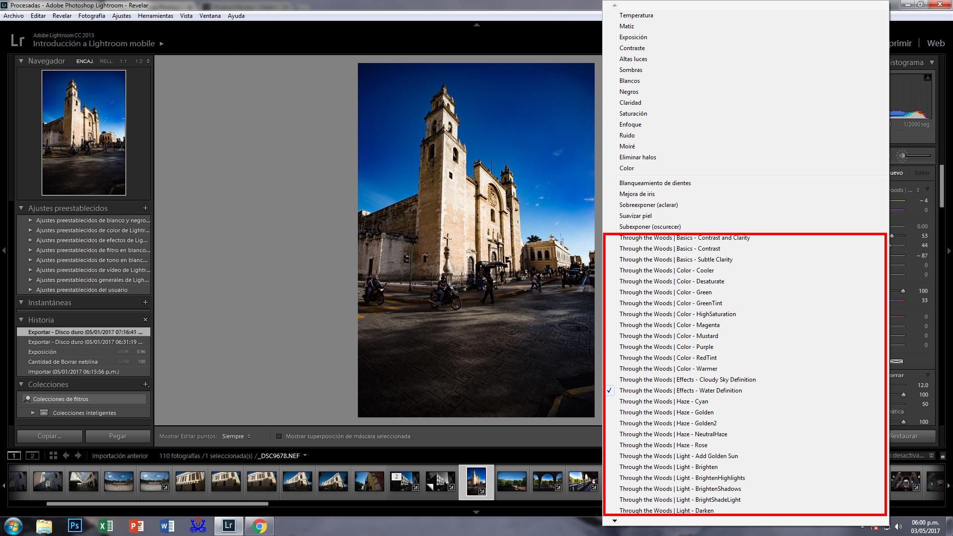 workflow presets