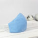 Classic Blue Sky Cotton Sculpted Fitted Face Mask (3)