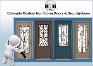 iron storm doors& security doors
