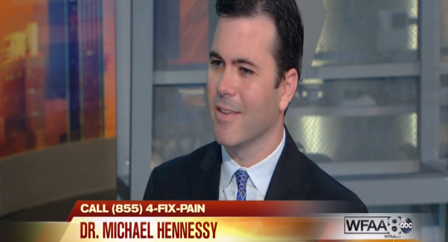 Dr. Hennessy Talks AccuCision® Spine on Good Morning Texas