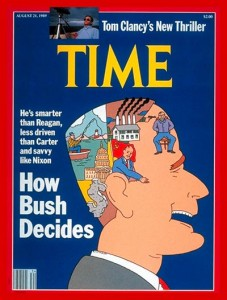 An Ebullient Society; a Superlative President: Time's adoration of George H. W. Bush signaled an extreme