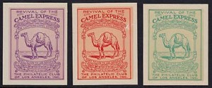 Camel Mail Stamps