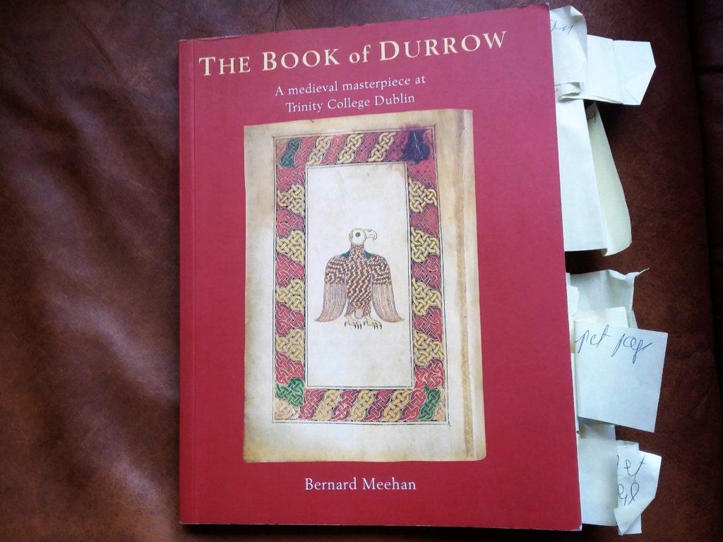 Book describing The Book of Durrow