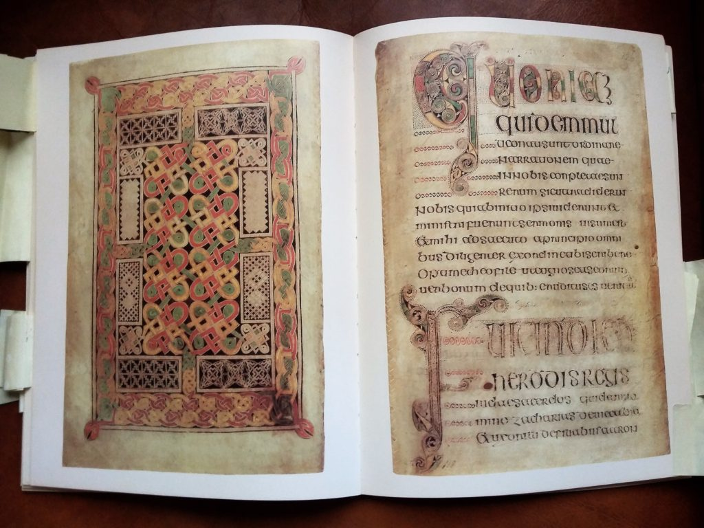 photos of The Book of Durrow