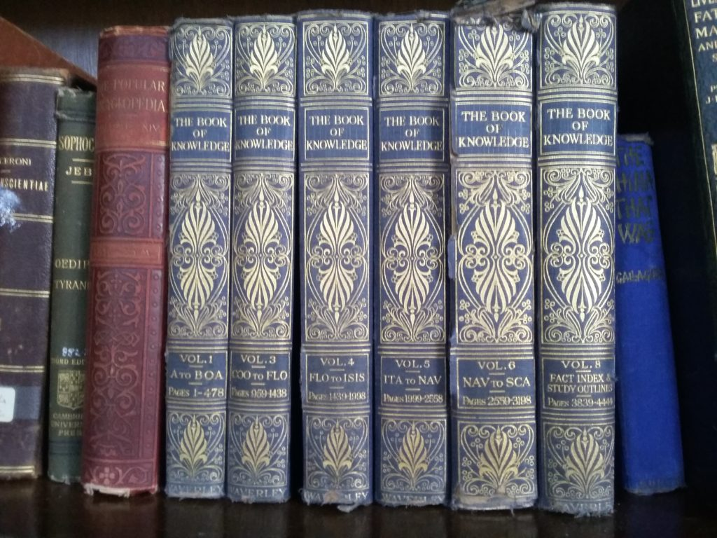 Book of Knowledge volumes