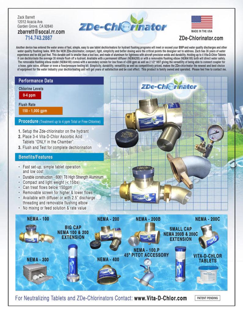 Water Dechlorinator Flyer