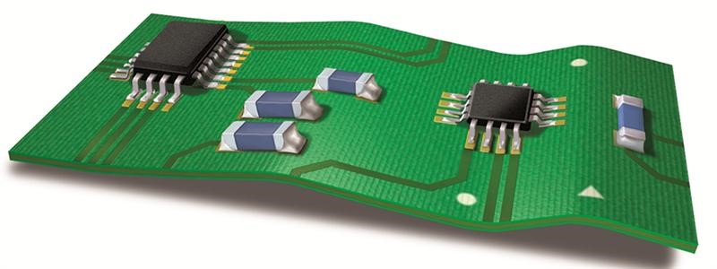 Example of PCB Warpage