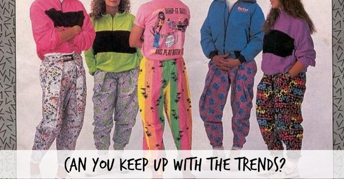 Use this back to school game to point out how crazy trends really are and how trying to follow them is not a good idea.