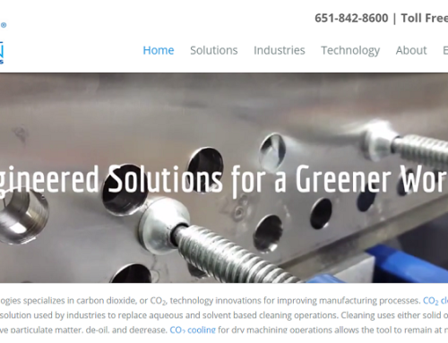A New Look for the New Year! Cool Clean Redesigns Website for Enhanced Experience of CO2 Technology