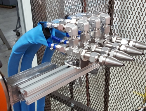 Automated CO2 Spray Cleaning of Automotive Parts
