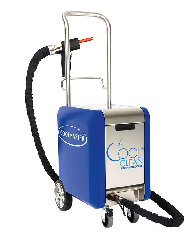 COOLMASTER Dry Ice Cleaning System