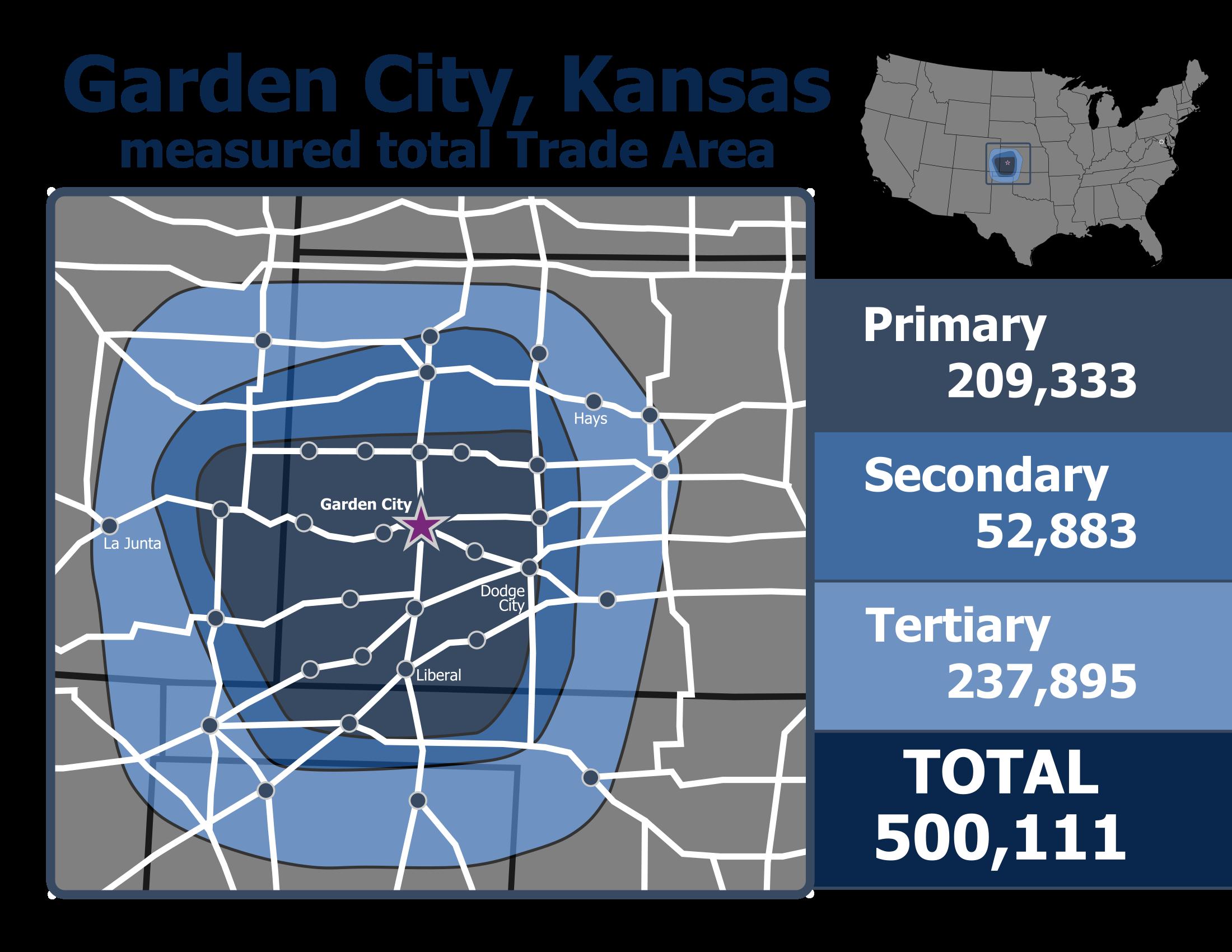 Garden City Trade Area Map v1