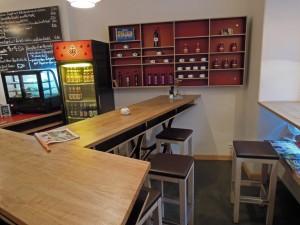 Inside of German Cafe