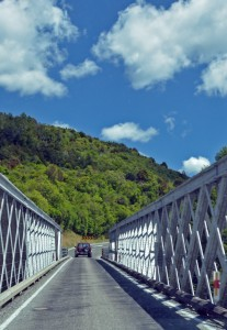One Lane Bridge, South Island, New Zealand