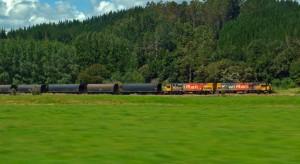 Freight Train, South Island, New Zealand