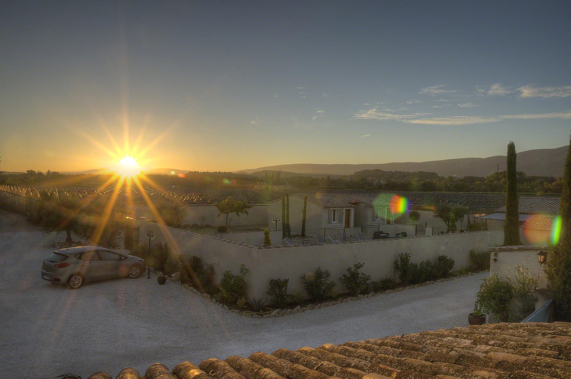 Sunrise in Provence, France