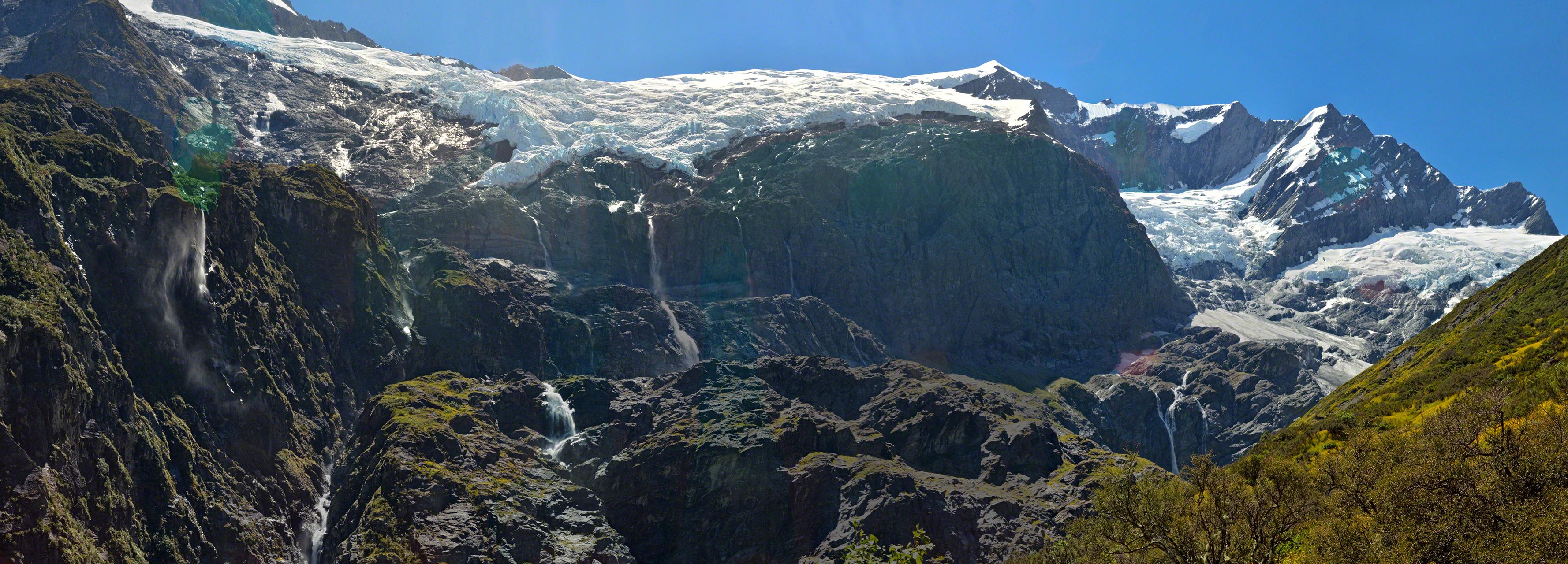 Rob Roy Glacier, near Wanaka, New Zealand