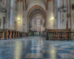 Church interior, Old Town Warsaw