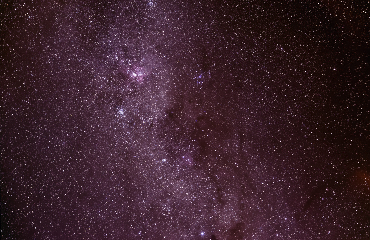 Milky Way and LOTS of stars.