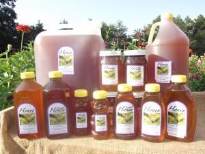 Local, Tupelo, Orange Blossom, Sourwood Honey