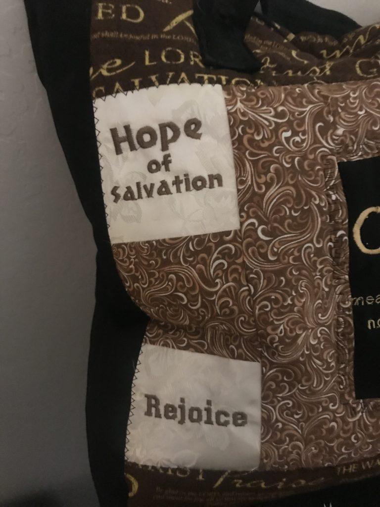 kastlekreations.net, embroidered bag