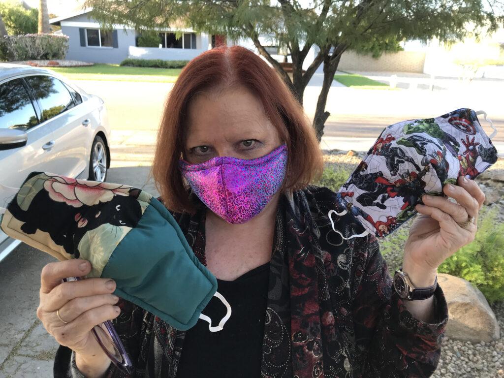 care of cloth influenza masks