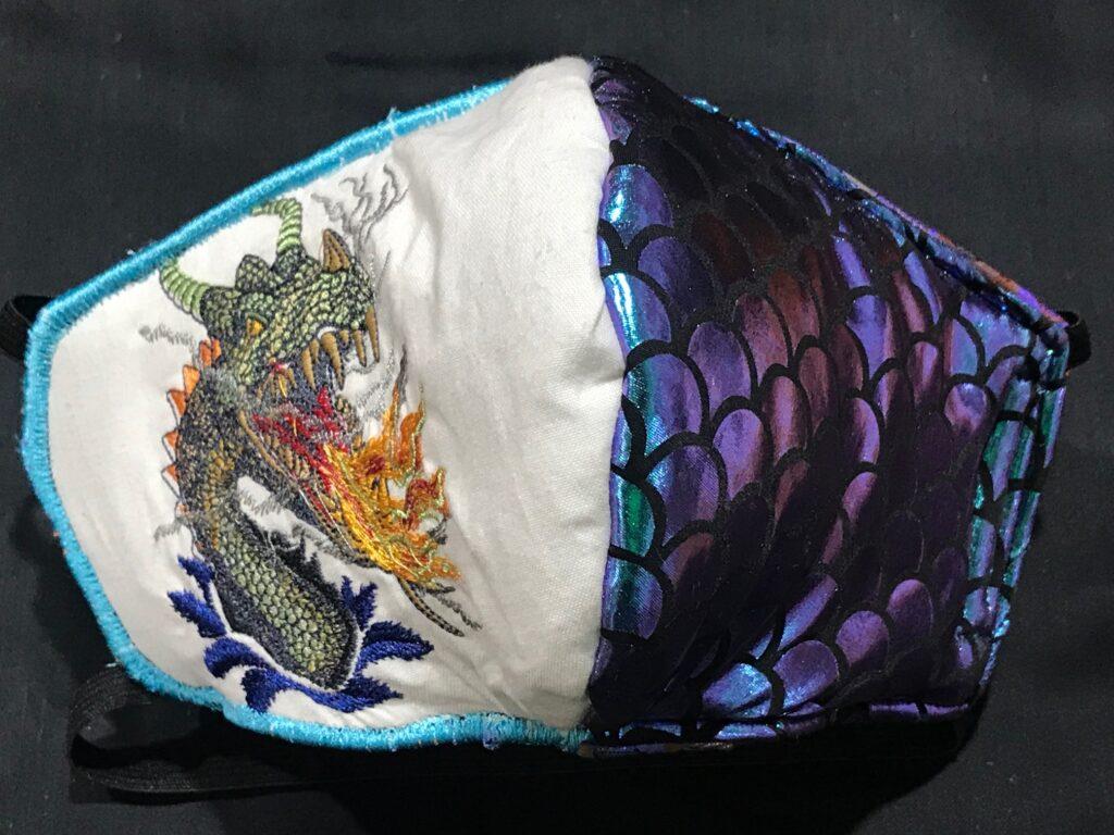 sample dragon mask