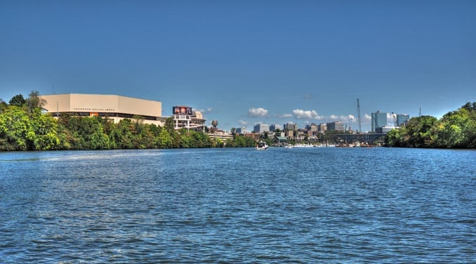Knoxville From Lake
