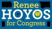Renee Hoyos for Congress Logo