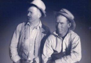 Renee's grandfather, on the right.