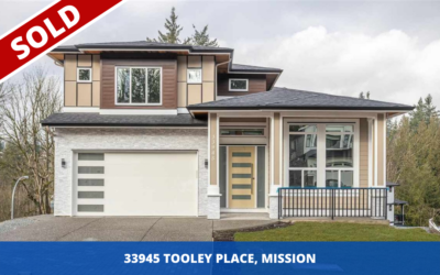 Sold – 33945 Tooley Place Mission, Bc