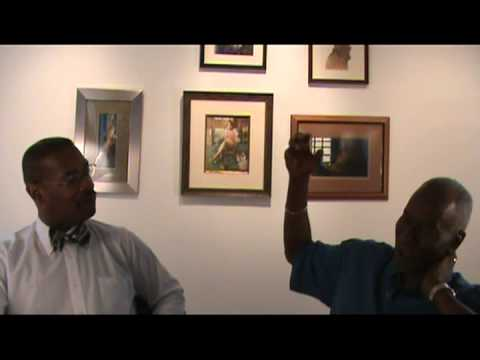 Interviews with Ethnic Art Gallery's owner Ron Chaney