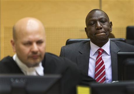TRIAL STARTS FOR KENYA DEPUTY PRESIDENT RUTO