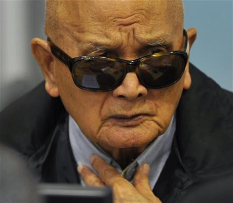 TRIAL OF CAMBODIA'S KHMER ROUGE LEADERS NEARS END