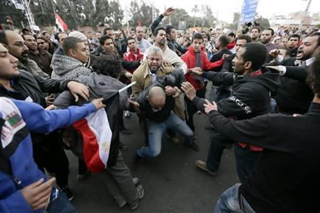 KEY EVENTS IN EGYPT'S UPRISING AND UNREST