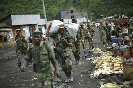M23 fighters in eastern Congo say ending rebellion