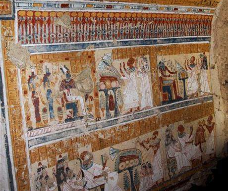 TOMB OF ANCIENT EGYPTIAN BEER BREWER UNEARTHED