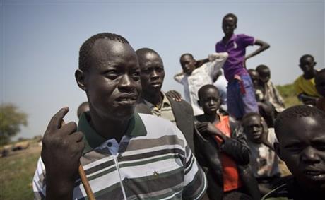 US 'LOST BOY' AMONG MANY FLEEING S SUDAN VIOLENCE