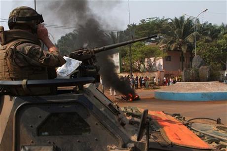 C. AFRICAN REPUBLIC CHOOSES MAYOR AS NEW LEADER